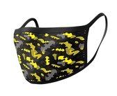 DC COMICS - Batman Camo Yellow - Premium Face Covers pack of 2