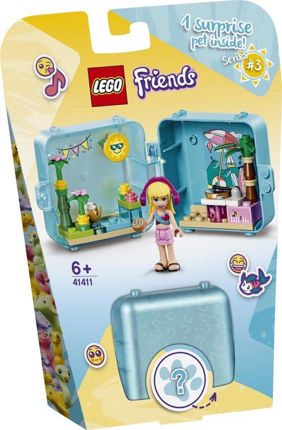 LEGO Friends Stephanie's Zomerspeelkubus – 41411