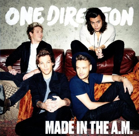 CD cover van Made In The A.M. van One Direction