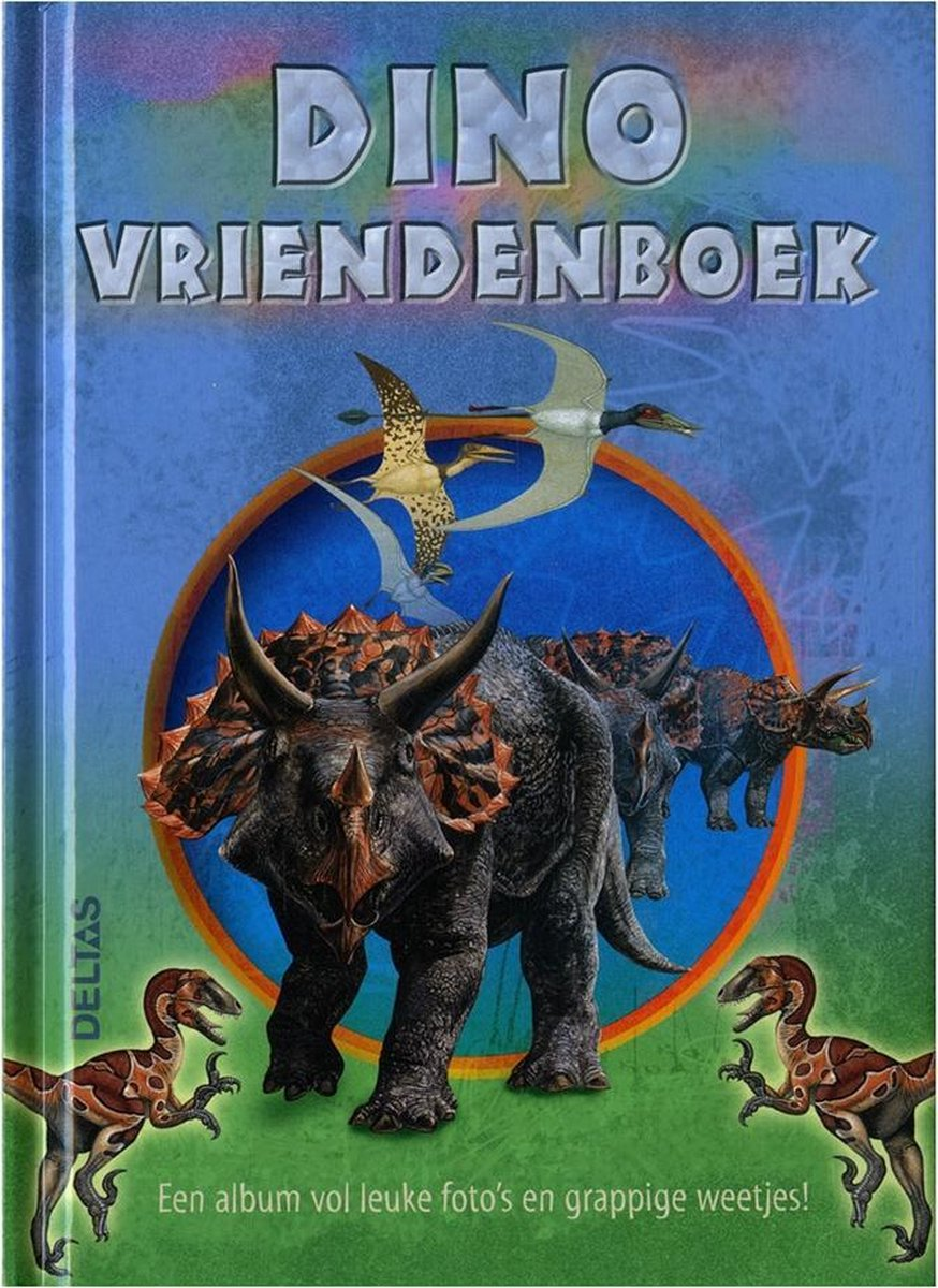 Dino vriendenboek - Schrijver