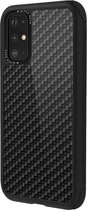 Black Rock Cover Robust Real Carbon voor Samsung Galaxy S20 Plus, zwart