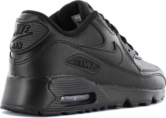Nike Air Max 90 LTR 833414-001 Kinderen Sneaker Sportschoenen Schoenen Zwart - Maat EU - Nike