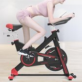 S700 Household Quiet Spinning Bicycle Indoor Sports Bicycle Fitness Equipment with LED Display & Tablet Holder & Moving Wheel