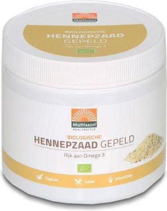 Bio Gepeld Hennepzaad Mattisso