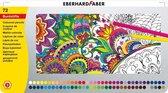 Kleurpotloden Eberhard Faber metaaletui 72 stuks