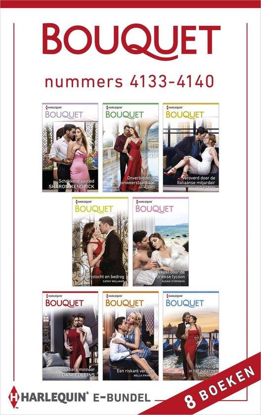 Bouquet e-bundel nummers 4133 - 4140 - Julia James pdf epub