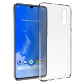 Accezz Clear Backcover Samsung Galaxy A70 hoesje - Transparant