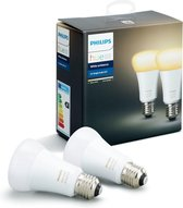 Philips Hue Lampen E27 - Duopack - White Ambiance