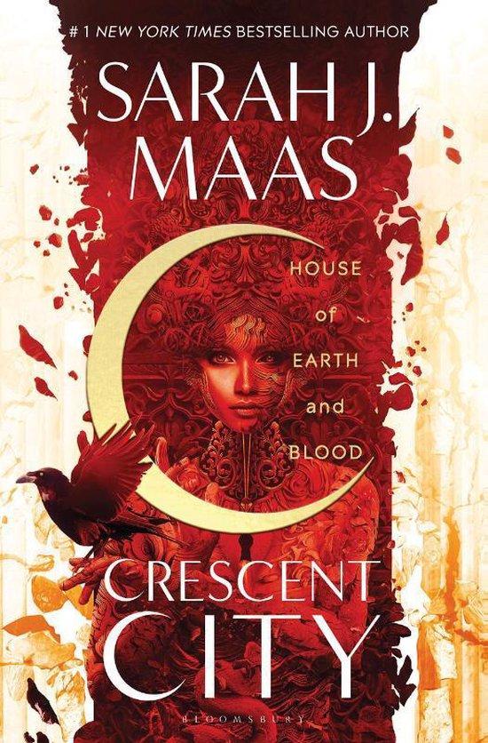 Boek cover House of Earth and Blood van Sarah J. Maas (Paperback)