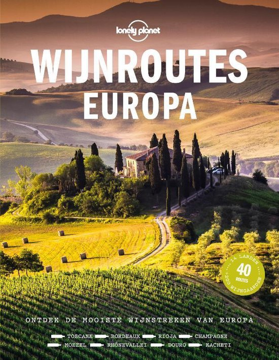 Boek cover Lonely planet - Wijnroutes Europa van Lonely Planet (Hardcover)