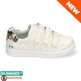 BunniesJR 220140-994 Meisjes Sneakers - Maat 27 - Wit - Sneakers - Stap Bunnies - Imitatieleer - Klittenband - Kindersneakers