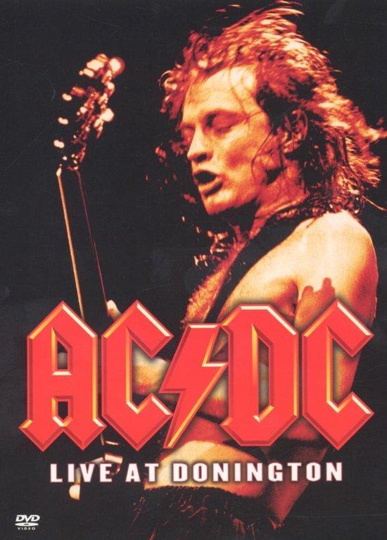 Cover van de film 'AC/DC - Live at Donington'
