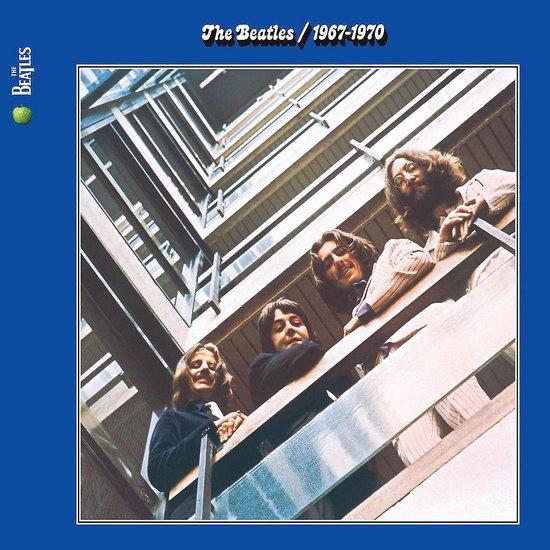CD cover van 1967 - 1970 (Blue) (Remastered) van The Beatles