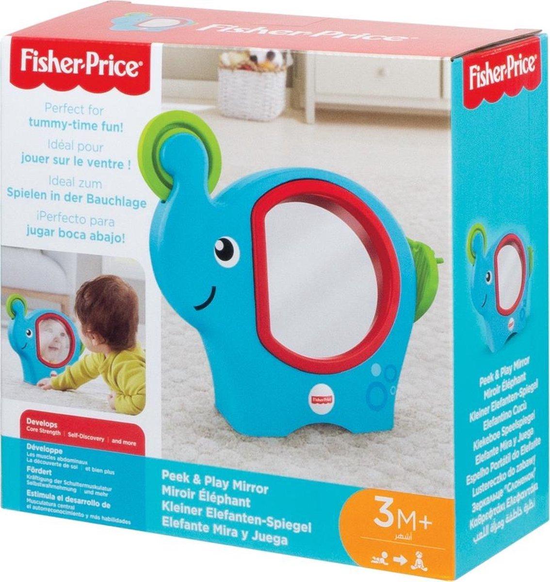 Fisher-Price Baby Spiegel olifant - Speelgoed voor motoriek