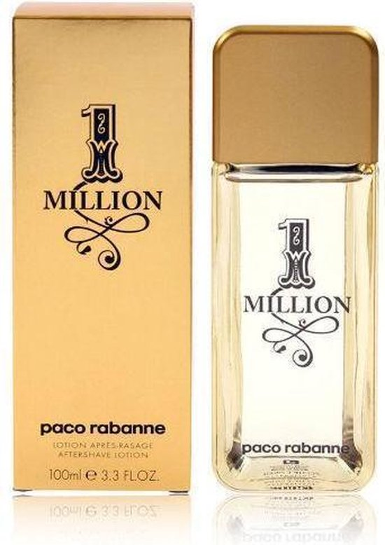 PACO 1 MILLION - 100ML - Aftershavelotion - Paco Rabanne