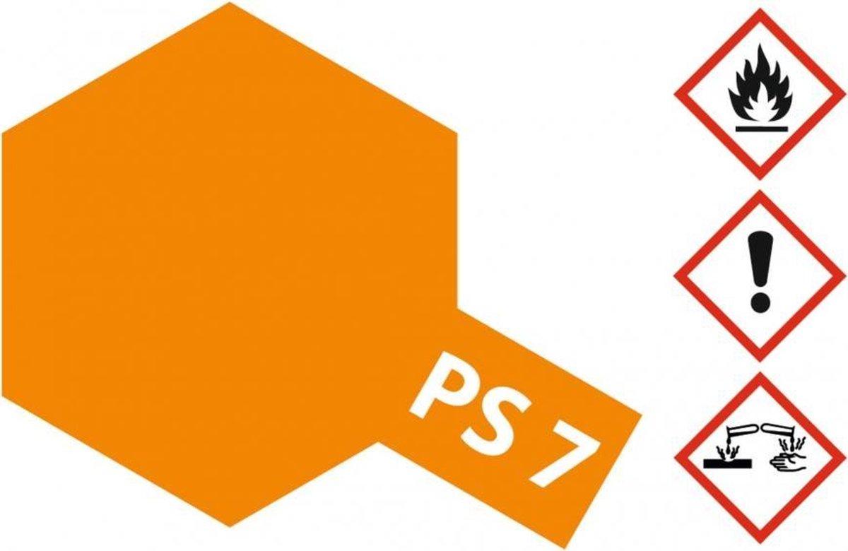 PS-7 Orange Polycarbonate 100ml