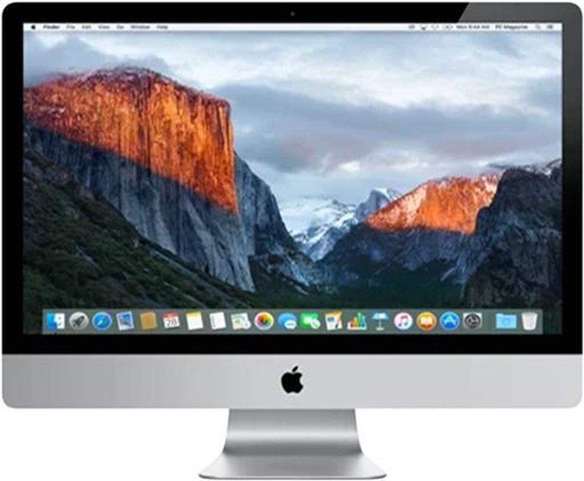 Apple iMac 27 inch Refurbished – Quad Core i5 3 2 Ghz – 8GB – 512GB SSD – Eind 2015 – A-grade