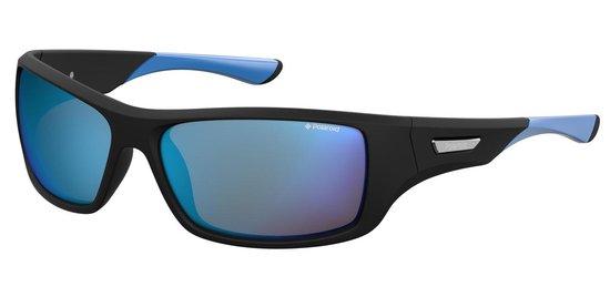 Polaroid® Polariserende Zonnebril Pacific Blue met Spiegellenzen Antislip Blauw Spiegelende Glazen