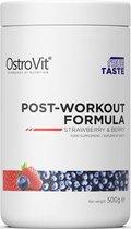 Pre-Workout - Post-Workout Formula 500g OstroVit - Blauwe Bessen + GRATIS Bulk Shaker 700ml