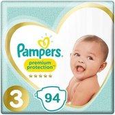 Pampers Premium Protection Maat 3 - 94 Luiers