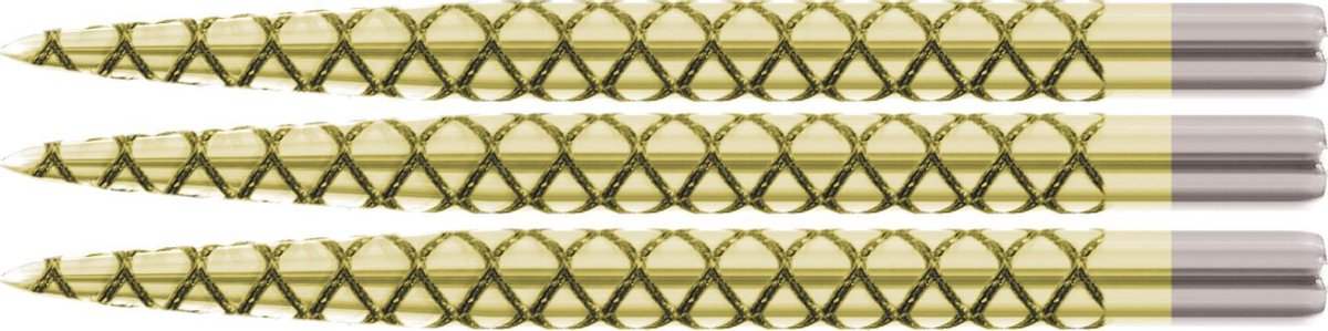 Target Steel Dart Grip Points Laser Gold - 36mm