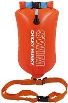 Oranje Zwemboei 16L  open water zwemmen Zwemboei - Unisex   Swim Chicky & Swim Hunky
