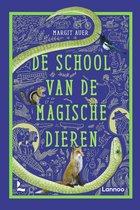 Boek cover De school van de magische dieren van Margit Auer (Onbekend)