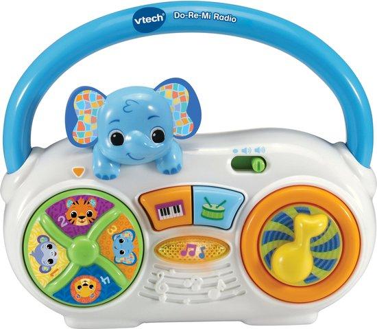 VTech - Dierenvriendjes Do-Re-Mi Radio - Educatief Babyspeelgoed - 1 tot 3 jaar