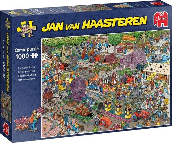 Jan van Haasteren De Bloemencorso puzzel - 1000 stukjes - Jan van Haasteren
