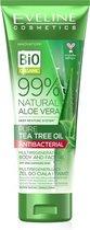 Eveline Cosmetics 99% Natural Aloe Vera Tea Tree Oil Body & Face Gel 250ml.