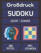 Sudoku Grossdruck Leicht - Schwer