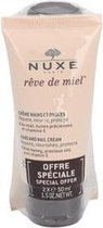 Nuxe Rêve de Miel Hand and Nail Cream Hand- en Nagelcrème - 2 stuks