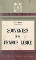 Souvenirs de la France libre