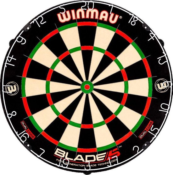 Afbeelding van Winmau Blade 5 Dual Core - Dartbord speelgoed