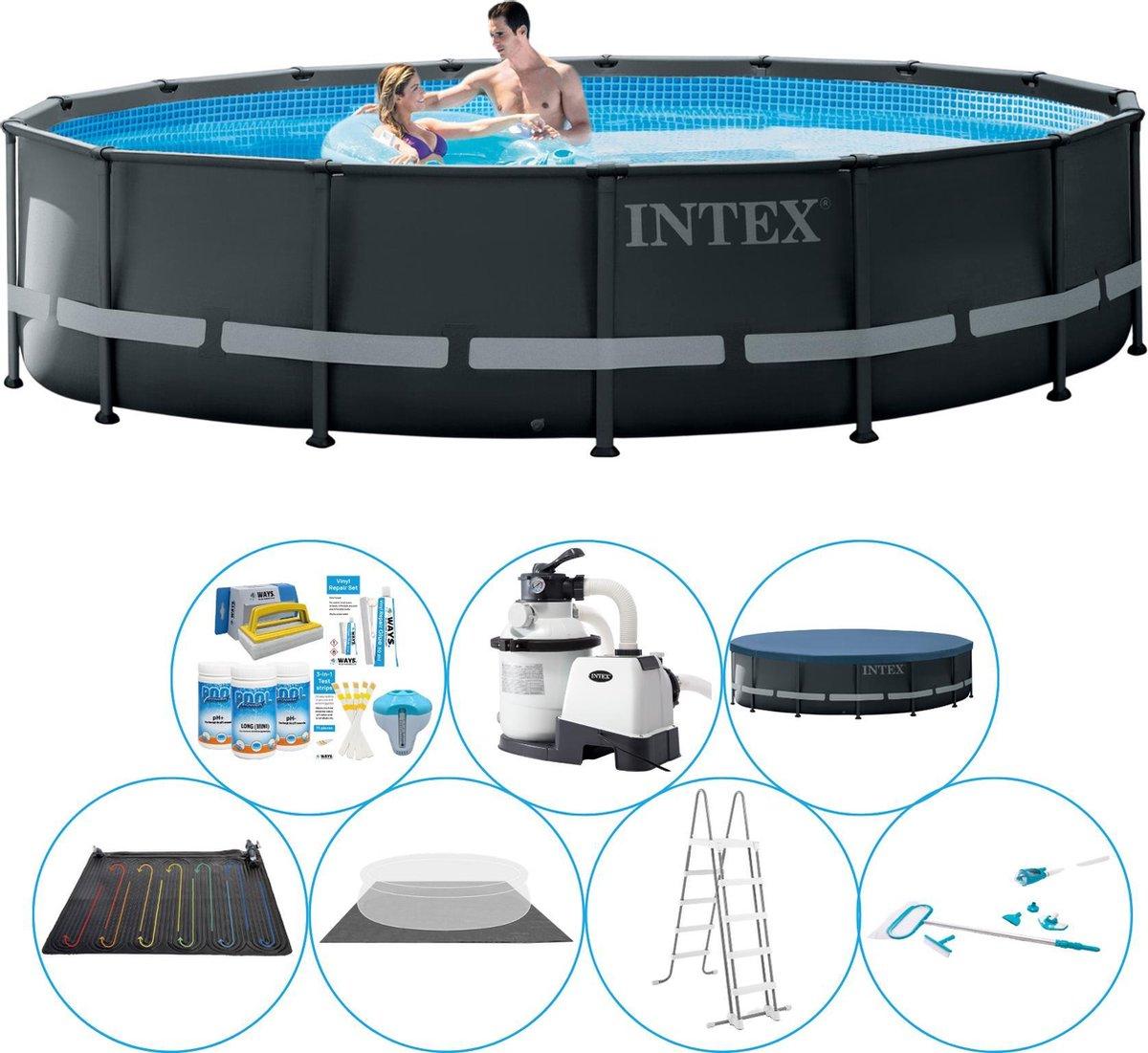 Intex Ultra XTR Frame Rond 488x122 cm - Zwembad Set
