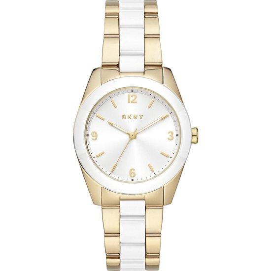DKNY Horloge analoge quartz One Size Goud Zilver 32013259