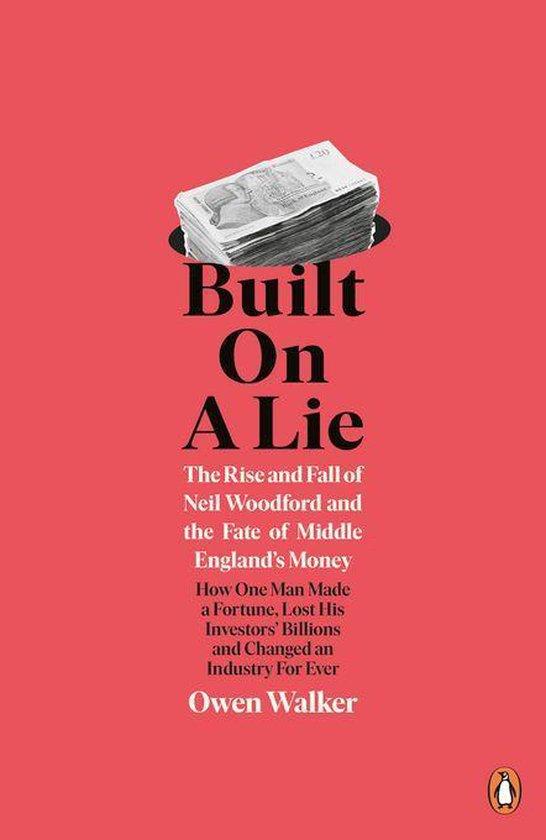Boek cover Built on a Lie van Owen Walker (Onbekend)