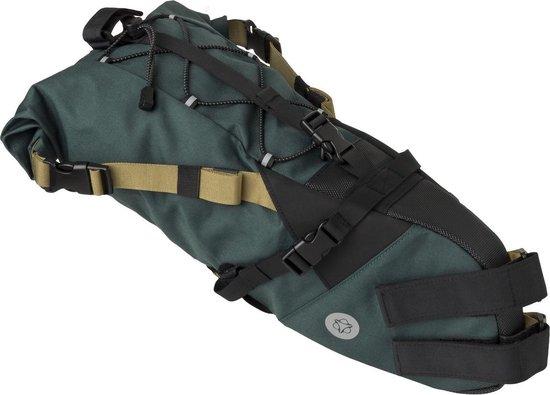 AGU Seat-Pack Venture Zadeltas Groen - 10L - Bikepacking