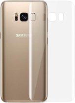 0.1mm HD 3D gebogen PET terug Full Screen Protector voor Galaxy S8 + / G955(Transparent)