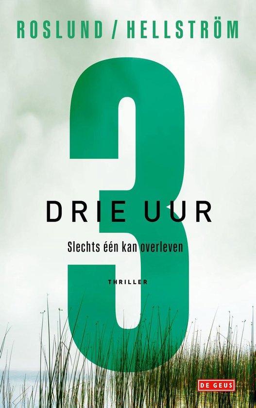 Boek cover Drie uur van Anders Roslund (Paperback)