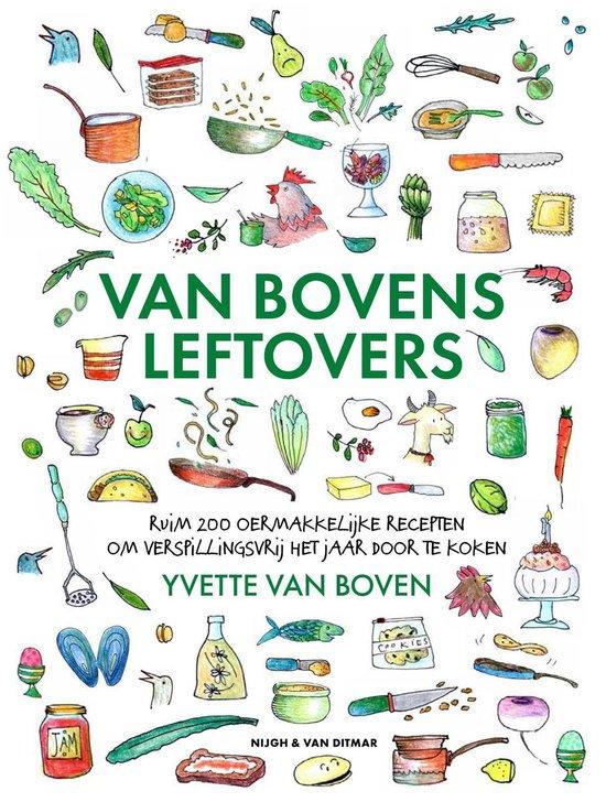 Boek cover Van Bovens leftovers van Yvette van Boven (Hardcover)