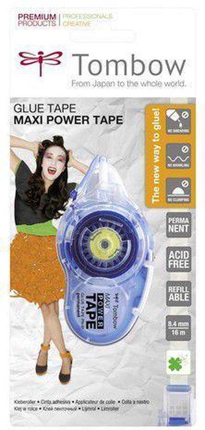 Tombow navulbare lijmroller Maxi Power Tape op blister