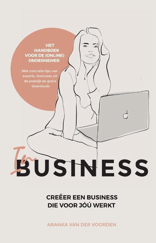 Boek cover In business van Aranka van der Voorden (Hardcover)