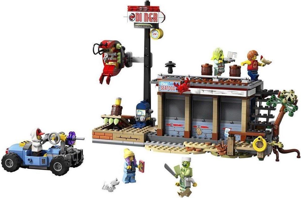 Lego Hidden Side 70422 Aanval Garnalententje