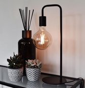 Calex U-Line tafellamp zwart E27 hoogte 53 cm