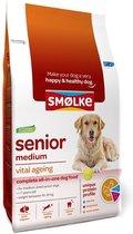 Smolke Senior Medium - Kip - Hondenvoer - 12 kg