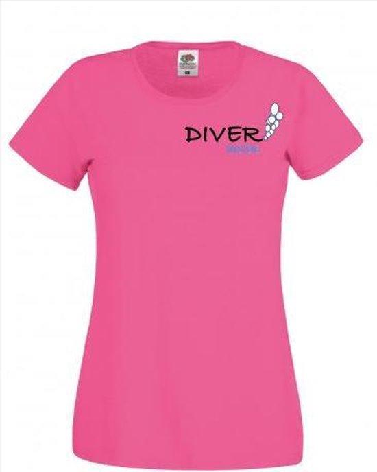 Procean DIVE t-shirt women XS roze
