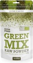 Green Mix Raw Powder (200 Gram) - Purasana
