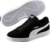 PUMA Smash v2 Sneakers Unisex - PUMA Black-PUMA White-PUMA Silver - Maat 42.5