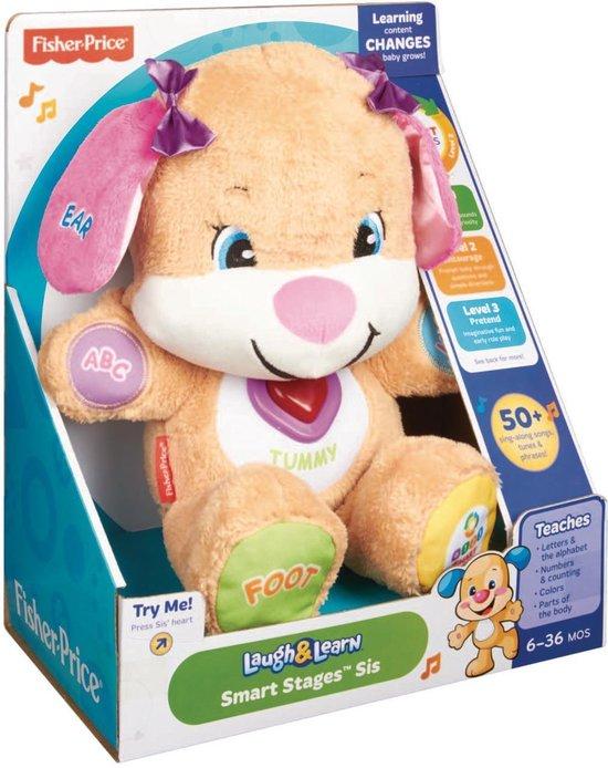 Fisher-Price Leerplezier Puppy - Roze - Nederlandstalig